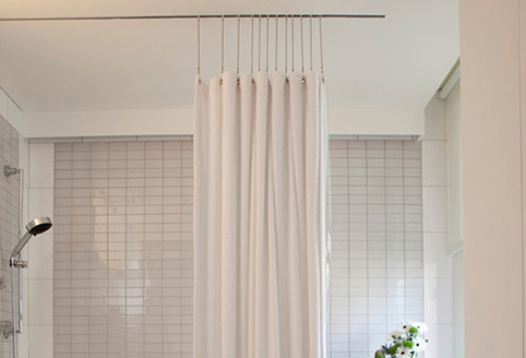 Outer Shower Curtains, Extension Chains Extension Chains, HGTV Video